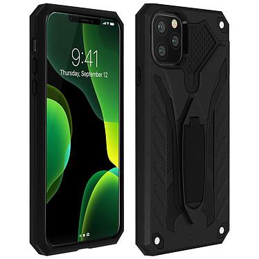 Avizar Coque Noir Béquille Intégrée pour Apple iPhone 11 Pro Max Coque Noir à béquille Apple iPhone 11 Pro Max