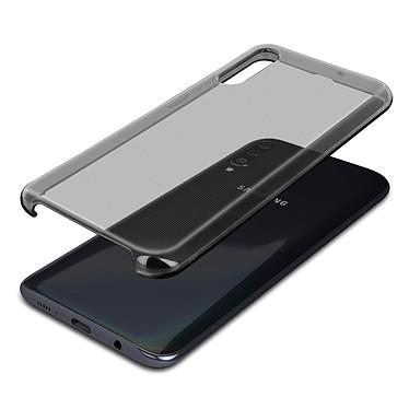 Avizar Coque Noir Semi-Rigide pour Samsung Galaxy A50 pas cher