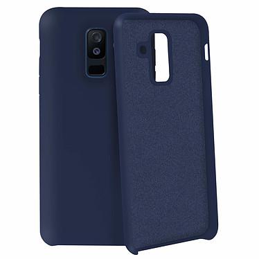 Avizar Coque Bleu Nuit pour Samsung Galaxy A6 Plus pas cher