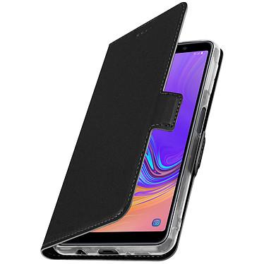 Avizar Etui folio Noir pour Samsung Galaxy A7 2018 pas cher
