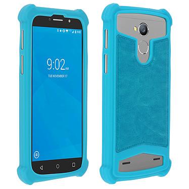 Avizar Coque Turquoise pour Smartphones de 5.0' à 5.3' pas cher