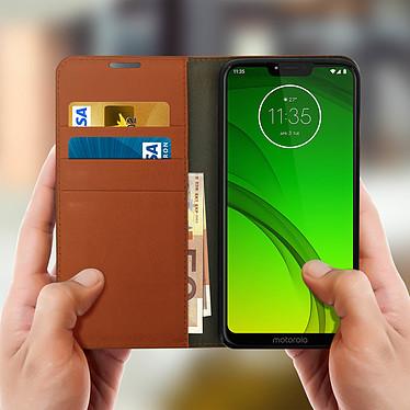 Acheter Avizar Etui folio Camel pour Motorola Moto G7 , Motorola Moto G7 Plus