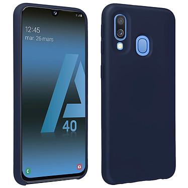 Avizar Coque Bleu Nuit pour Samsung Galaxy A40 Coque Bleu Nuit Samsung Galaxy A40
