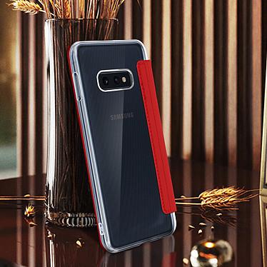 Avis Avizar Etui folio Rouge Miroir pour Samsung Galaxy S10e