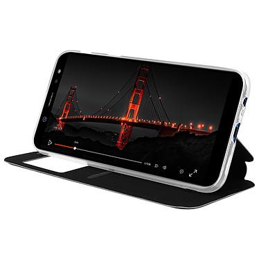 Avis Avizar Etui folio Noir à fenêtre pour Samsung Galaxy A6