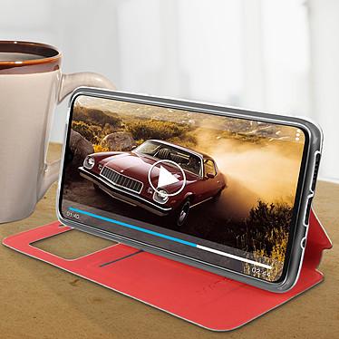 Avis Avizar Etui folio Rouge Éco-cuir pour Huawei Mate 20