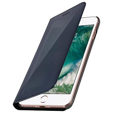 Avizar Etui folio Noir pour Apple iPhone 7 Plus , Apple iPhone 8 Plus Etui folio Noir Apple iPhone 7 Plus , Apple iPhone 8 Plus