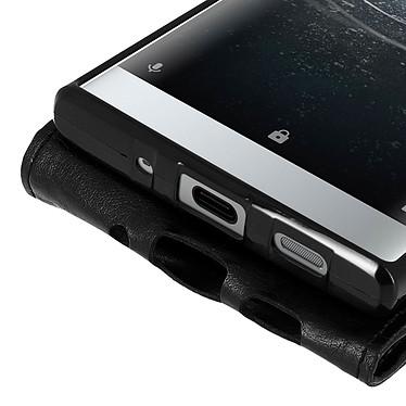 Avis Avizar Etui à clapet Noir pour Sony Xperia XA2