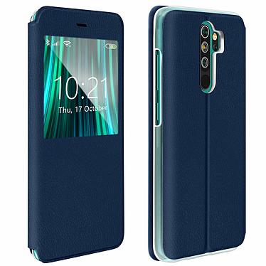 Avizar Etui folio Bleu Nuit pour Xiaomi Redmi Note 8 Pro Etui folio Bleu Nuit Xiaomi Redmi Note 8 Pro