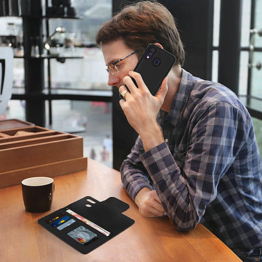 Avis Avizar Etui folio Noir pour Samsung Galaxy A40
