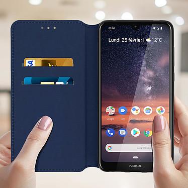 Acheter Avizar Etui folio Bleu Nuit pour Nokia 3.2