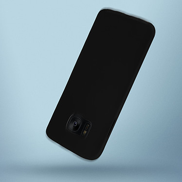 Avizar Coque Noir pour Samsung Galaxy S7 Edge pas cher