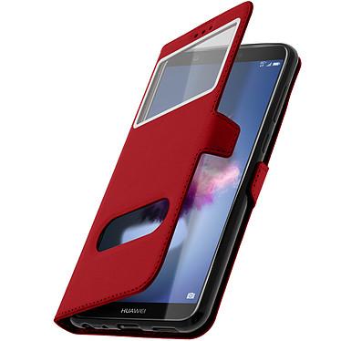 Avizar Etui folio Rouge pour Huawei P Smart Plus pas cher