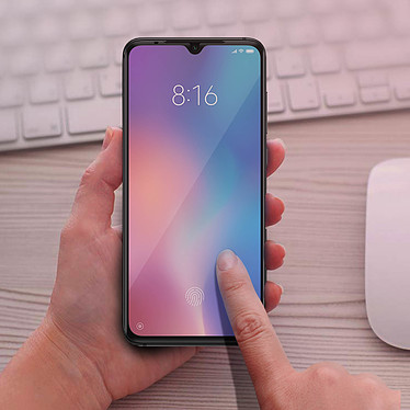 Acheter Avizar Film verre trempé Noir pour Xiaomi Mi 9