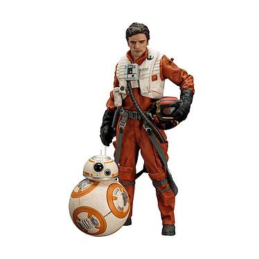 Star Wars Episode VII - Pack 2 statuettes 1/10 ARTFX+ Poe Dameron & BB-8 7 - 18 cm Pack de 2 statuettes Star Wars Episode VII, modèle 1/10 ARTFX+ Poe Dameron & BB-8 7 - 18 cm.