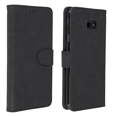 Avizar Etui folio Noir pour Samsung Galaxy J4 Plus Etui folio Noir Samsung Galaxy J4 Plus