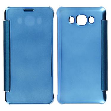 Avizar Etui folio Bleu pour Samsung Galaxy J5 2016 pas cher