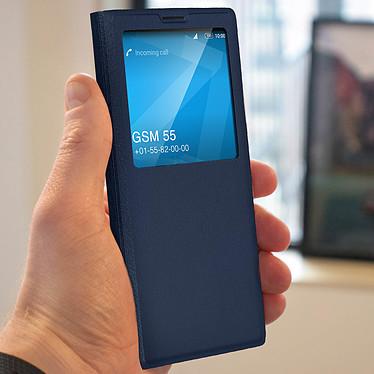 Avis Avizar Etui folio Bleu Nuit à fenêtre pour Sony Xperia 1