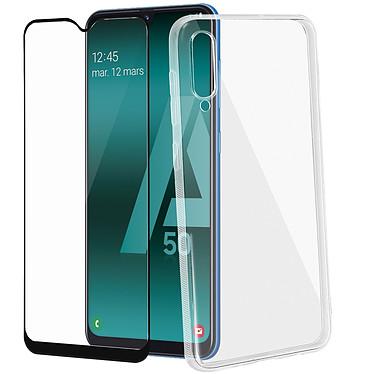 Avizar Pack protection Noir pour Samsung Galaxy A50 , Samsung Galaxy A30s pas cher