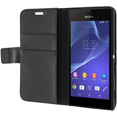 Acheter Avizar Etui folio Noir pour Sony Xperia M2 , Sony Xperia M2 Aqua