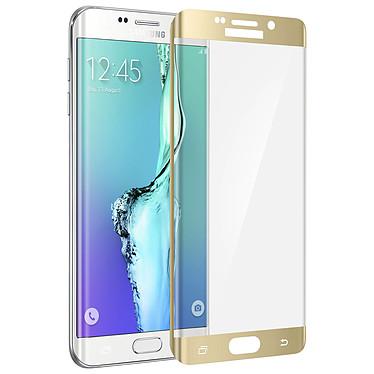 Acheter Avizar Film verre trempé Dorée pour Samsung Galaxy S6 Edge Plus