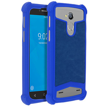 Avizar Coque Bleu pour Smartphones de 5.0' à 5.3' Coque Bleu Smartphones de 5.0' à 5.3'