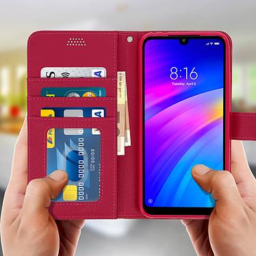 Acheter Avizar Etui folio Rose pour Xiaomi Redmi 7