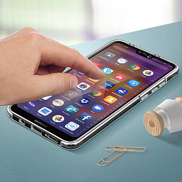 Avizar Coque Transparent pour Huawei P20 Lite pas cher