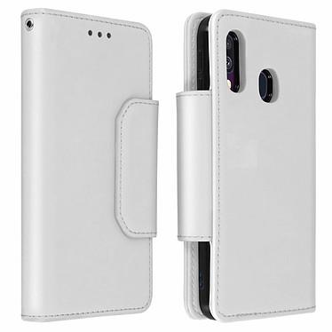Avizar Etui folio Argent pour Samsung Galaxy A40 Etui folio Argent Samsung Galaxy A40