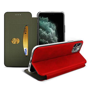 Avizar Etui folio Rouge pour Apple iPhone 11 Pro Max pas cher