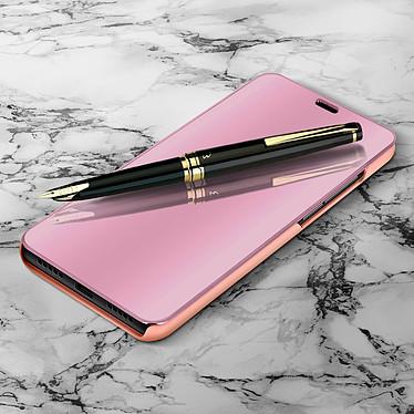 Avizar Etui folio Rose Champagne pour Xiaomi Mi A2 pas cher