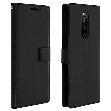 Avizar Etui folio Noir pour Sony Xperia 1 Etui folio Noir Sony Xperia 1