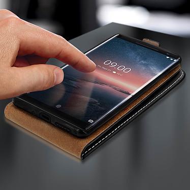 Acheter Avizar Etui à clapet Noir pour Nokia 9 , Nokia 8 Sirocco
