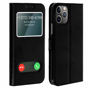 Avizar Etui folio Noir pour Apple iPhone 11 Pro Etui folio Noir Apple iPhone 11 Pro