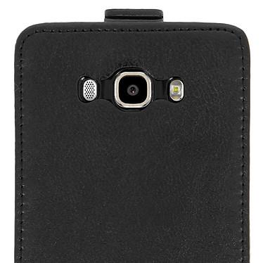 Avis Avizar Etui à clapet Noir pour Samsung Galaxy J7 2016