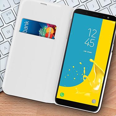 Acheter Avizar Etui folio Blanc pour Samsung Galaxy J6