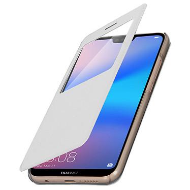 Avizar Etui folio Blanc pour Huawei P20 Lite pas cher