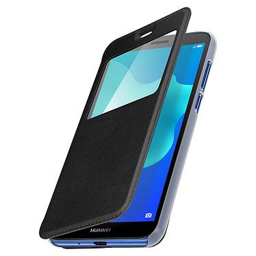 Avizar Etui folio Noir pour Huawei Y5 2018 , Honor 7S pas cher