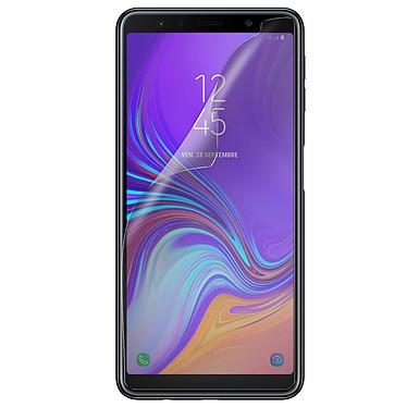 Avizar Film protecteur Transparent Haute Résistance pour Samsung Galaxy A7 2018 pas cher