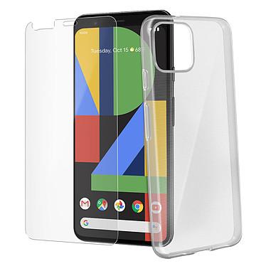 Avizar Pack protection Transparent pour Google Pixel 4 pas cher