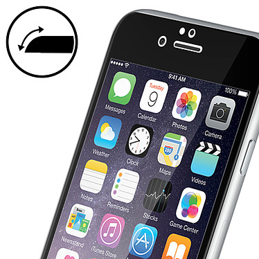 Avis Avizar Film verre trempé Noir pour Apple iPhone 6 Plus , Apple iPhone 6S Plus
