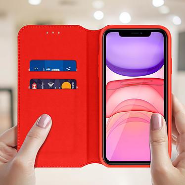 Acheter Avizar Etui folio Rouge Éco-cuir pour Apple iPhone 11