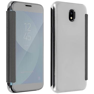 Avizar Etui folio Argent pour Samsung Galaxy J3 2017 Etui folio Argent Samsung Galaxy J3 2017