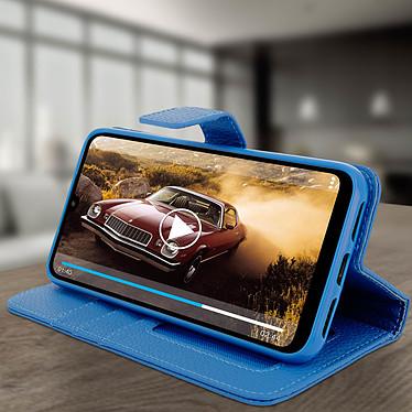 Avis Avizar Etui folio Bleu pour Xiaomi Redmi 7