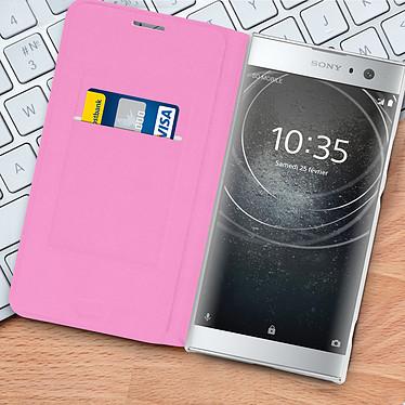 Acheter Avizar Etui folio Rose pour Sony Xperia XA2