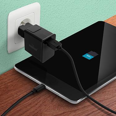 Acheter Avizar Chargeur secteur Noir pour Tous les appareils équipés d'un port micro USB