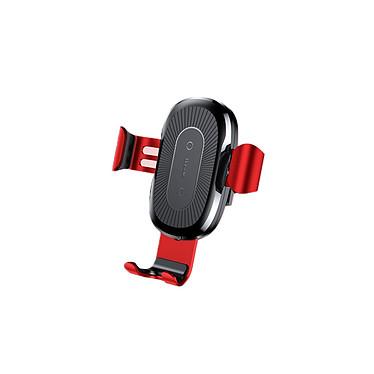 Baseus Support Smartphone Chargeur Induction 10W Rouge Support pour smartphone avec fonction de chargeur à induction 10W