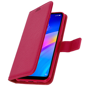Avizar Etui folio Rose pour Xiaomi Redmi 7 pas cher