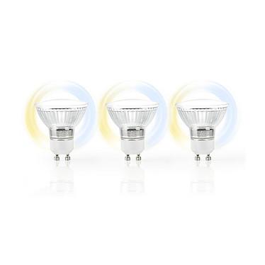 Avis NEDIS Ampoule LED Intelligente WiFi   Lot de 3
