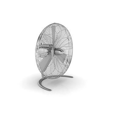 StadlerForm - Ventilateur CHARLY Floor - Acier inox Très puissant